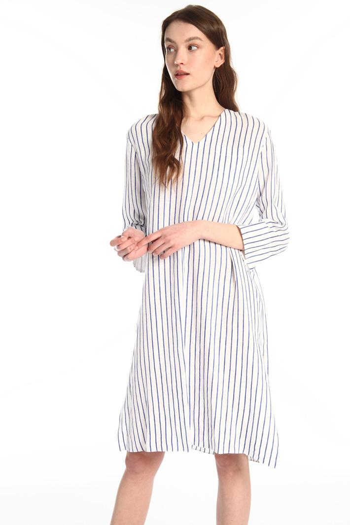 Muslin tunic dress Intrend