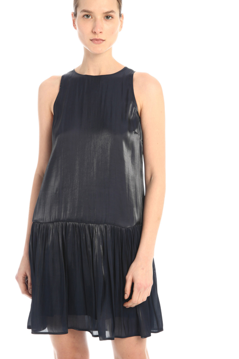 Flounced organza dress Intrend