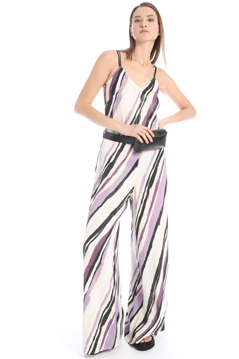 Lurex sablé jumpsuit Intrend