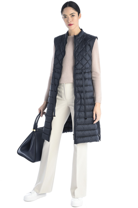 Quilted long vest Intrend