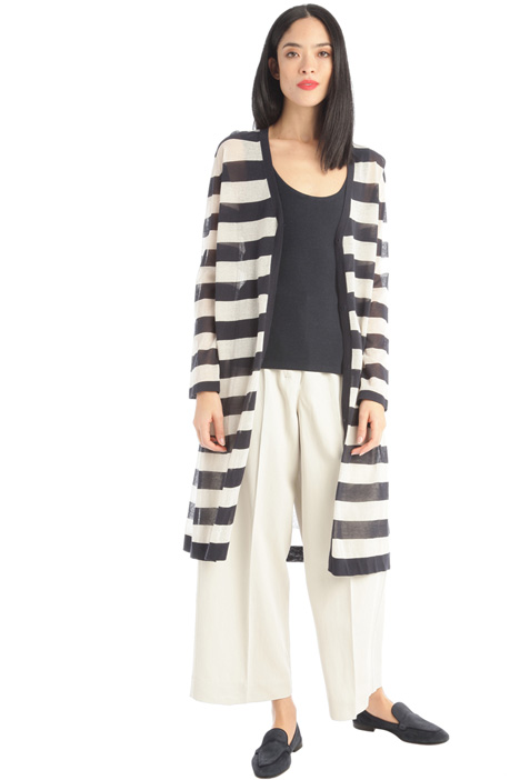 Long cotton cardigan Intrend