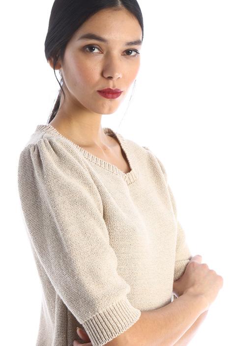Lurex cotton sweater Intrend