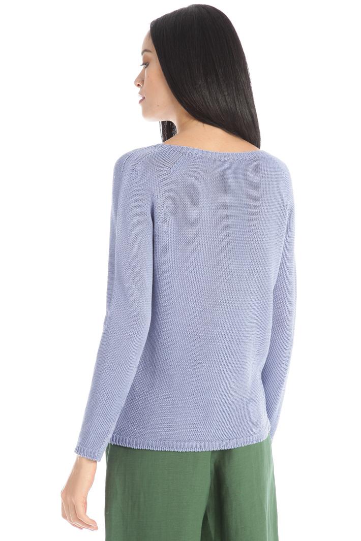 Linen yarn sweater Intrend