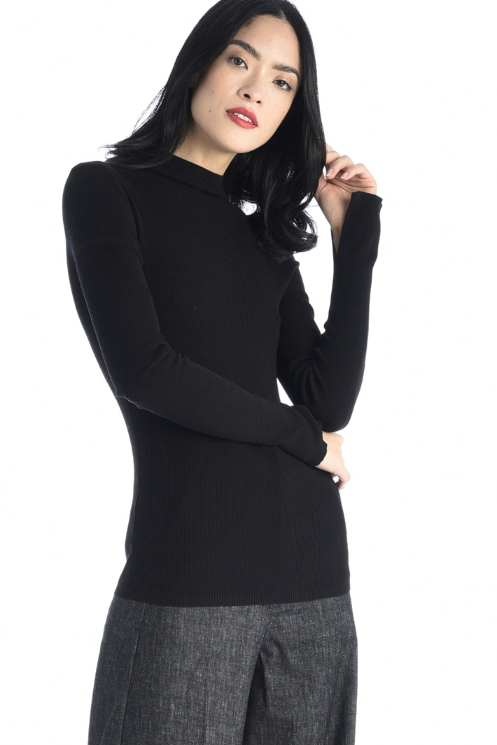 Wool yarn turtleneck Intrend