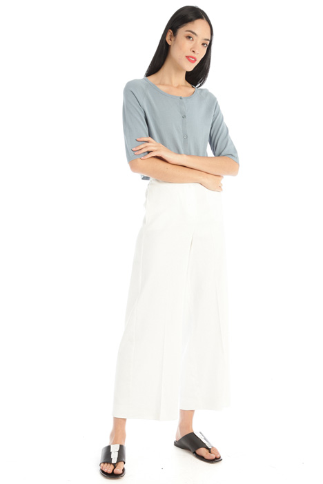 Cropped cotton shrug Intrend