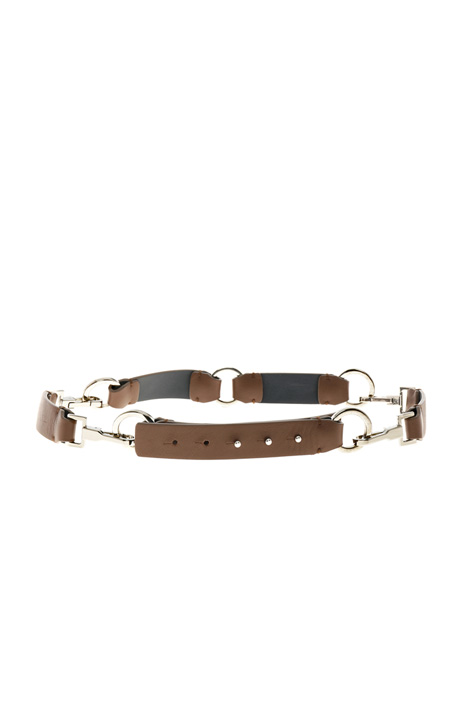 Modular leather belt Intrend
