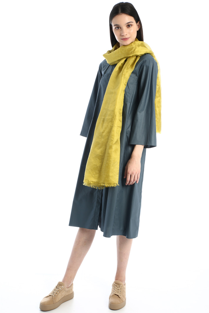 Linen and silk stole Intrend