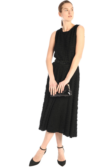 Frilled jersey dress Intrend