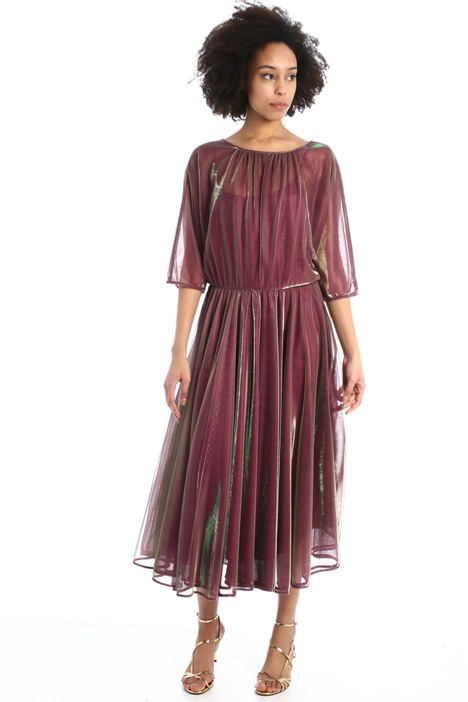 Shiny tulle dress  Intrend
