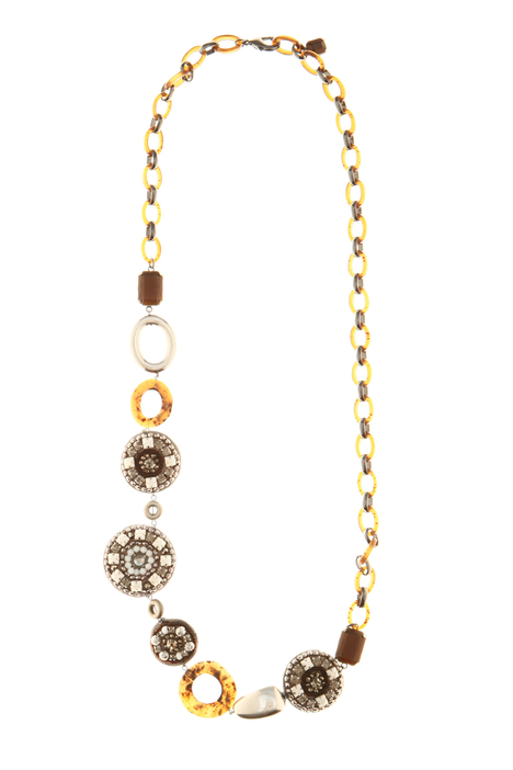 Necklace with bead embroidery Intrend