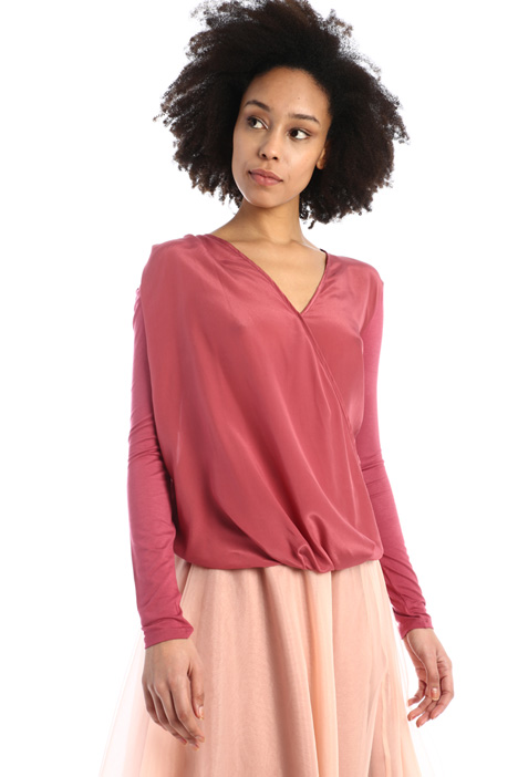 Draped blouse Intrend