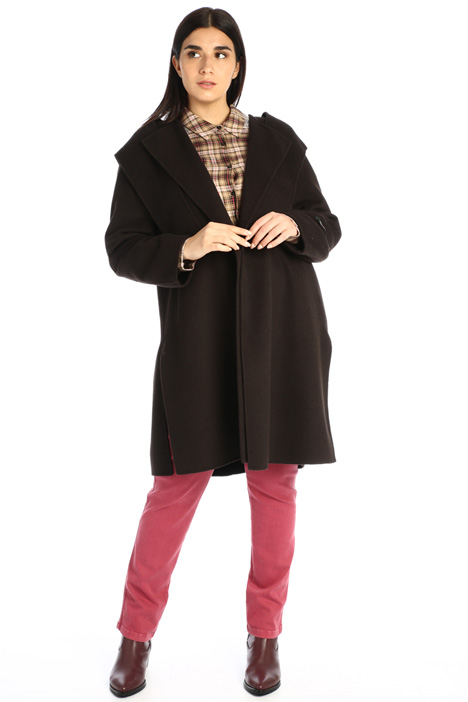 Double-sided wool blend coat Intrend