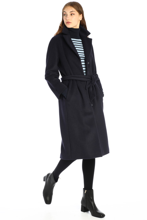 Cappotto lungo con cintura Intrend