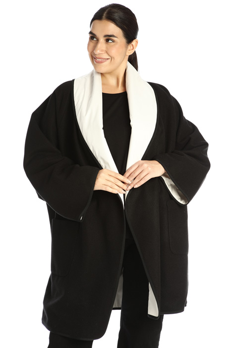Wide reversible coat Intrend