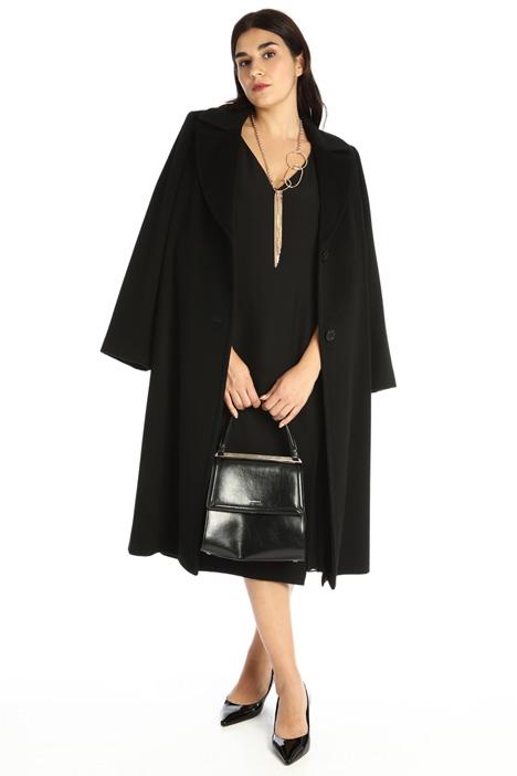 Coat in wool drap Intrend