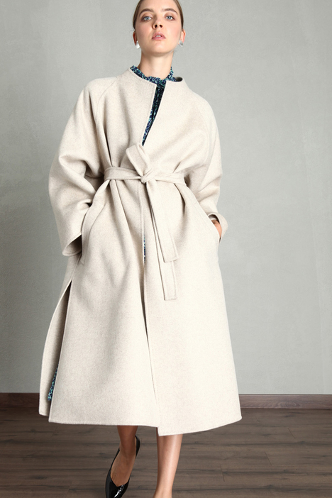 Felted cashmere coat Intrend