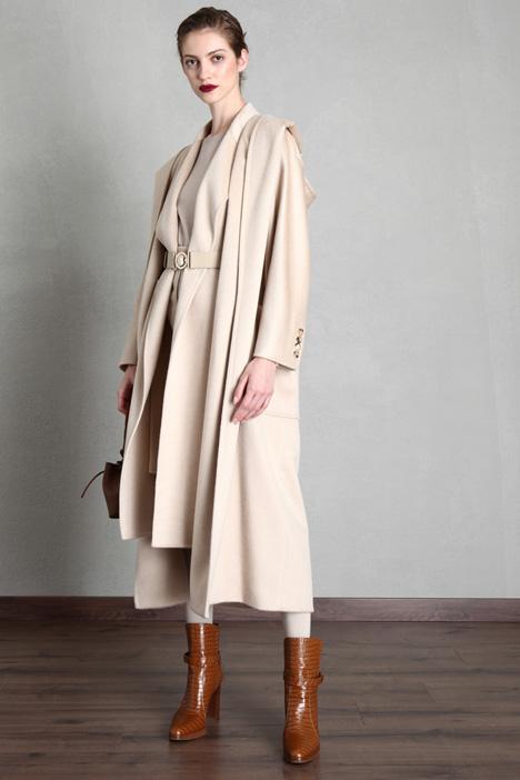 Long wrap-up coat Intrend