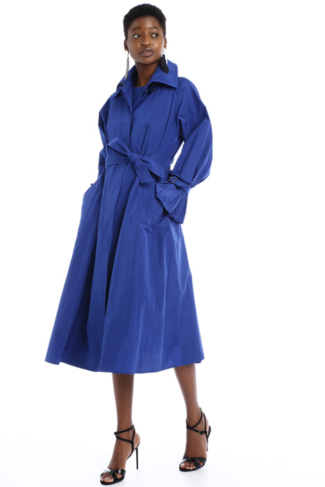 Water-resistant taffeta trench Intrend