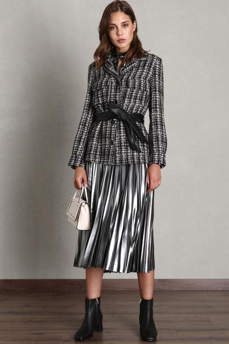Belted tweed blazer Intrend