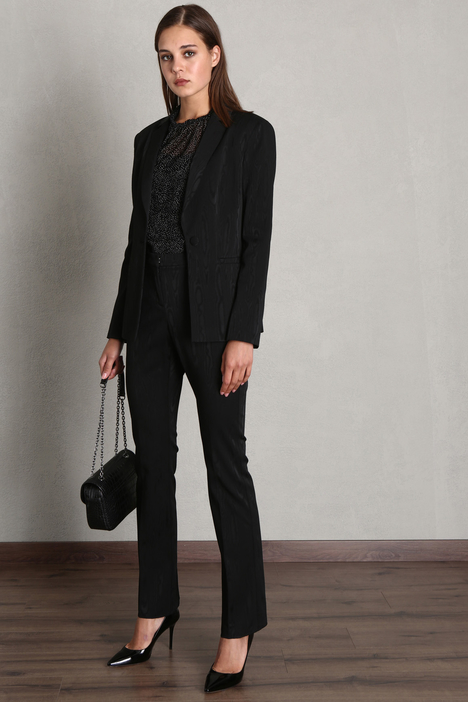 Fitted jacquard blazer Intrend