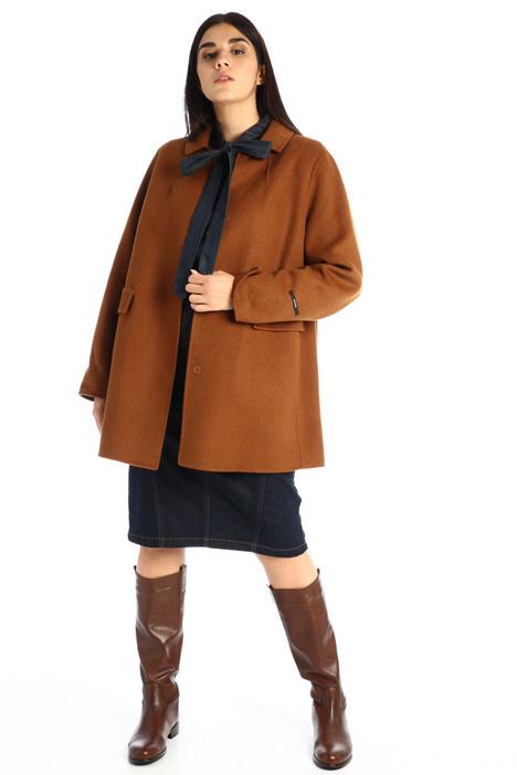 Double-wool blend coat Intrend