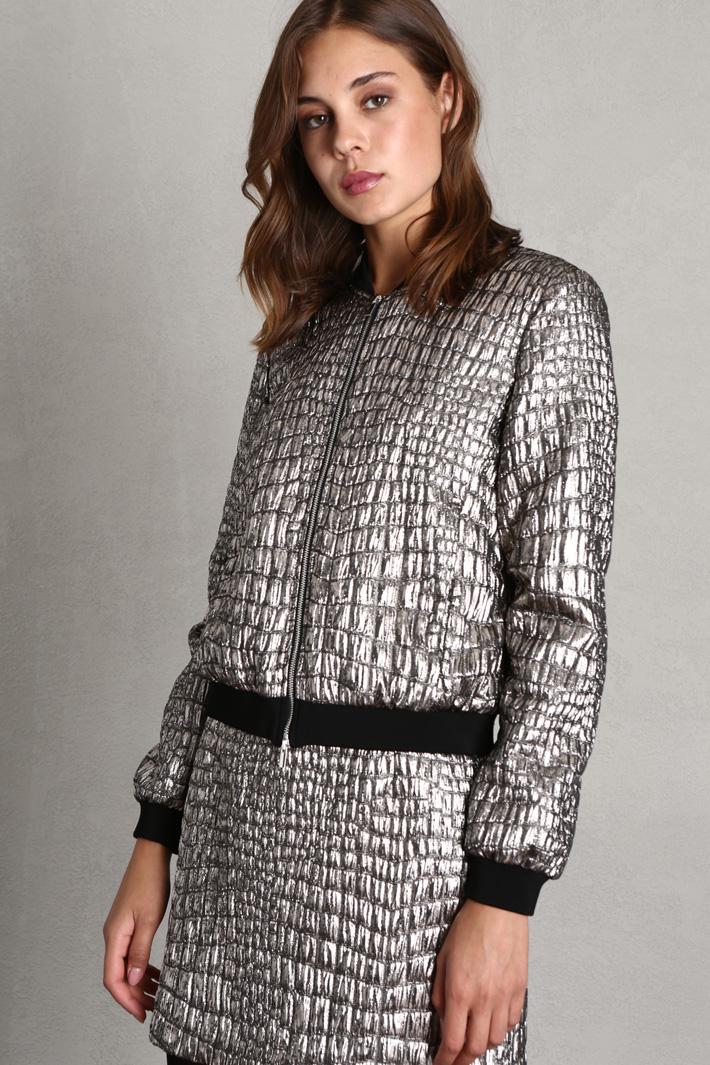 Metallised jacket Intrend