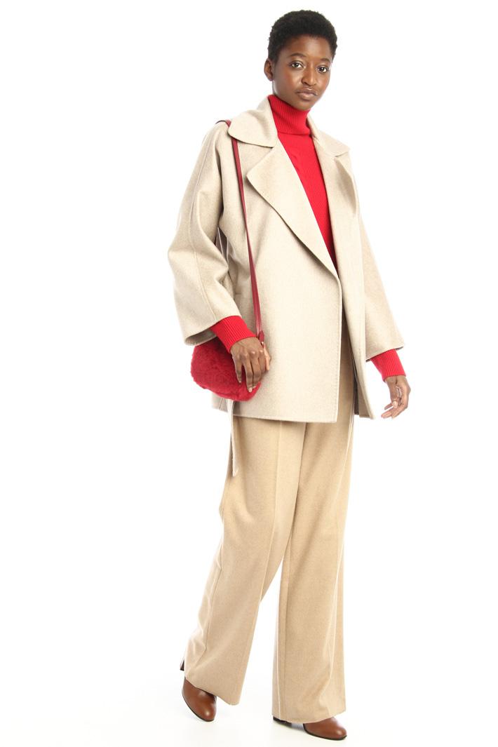 Cappotto in drap di cashmere Intrend