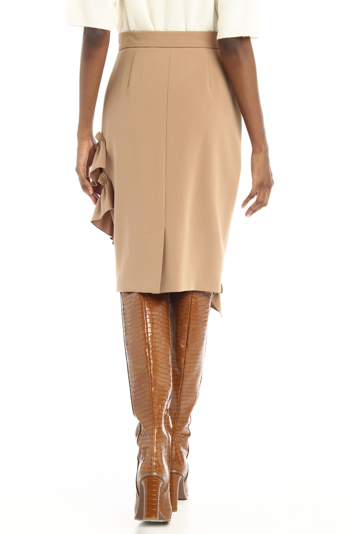 Ruched cady skirt Intrend