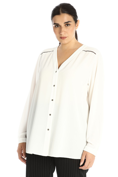 Embroidered blouse Intrend