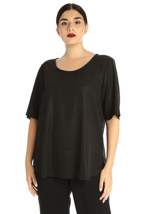 Laminated blouse Intrend
