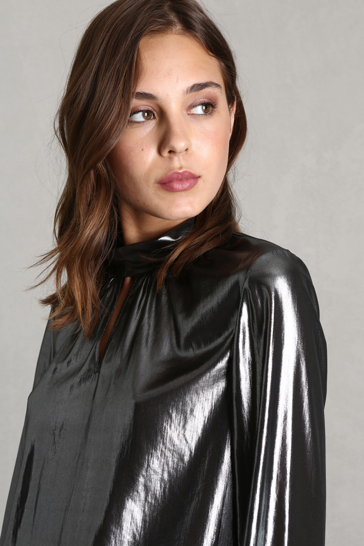 Metallised blouse Intrend