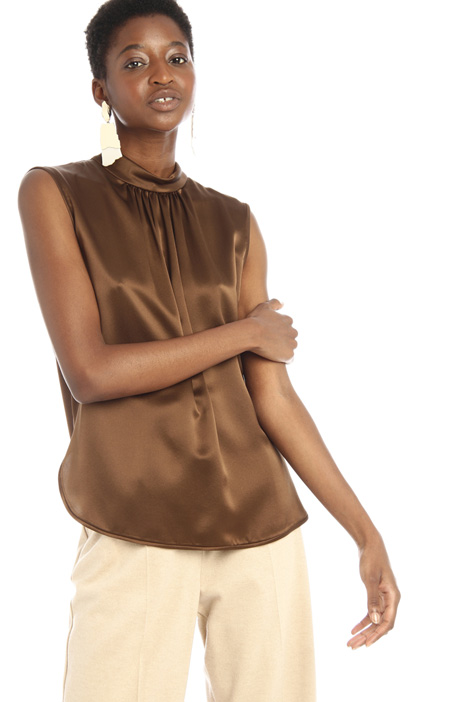 Silk and viscose blouse Intrend