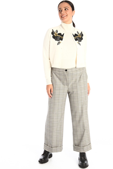 Checked trousers Intrend