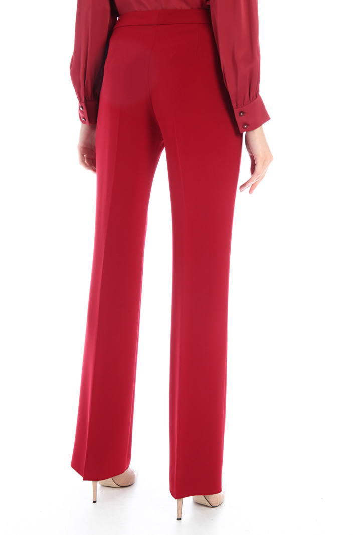 Straight cady trousers Intrend