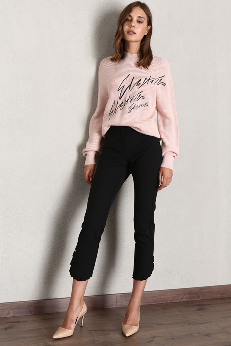 Frilled trousers Intrend