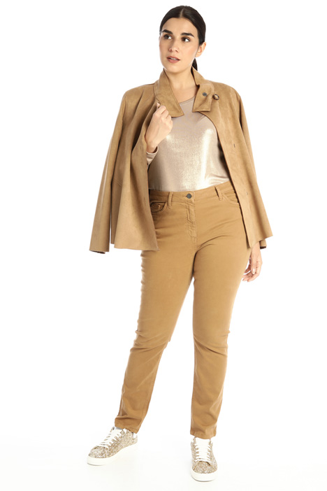 Skinny satin trousers Intrend