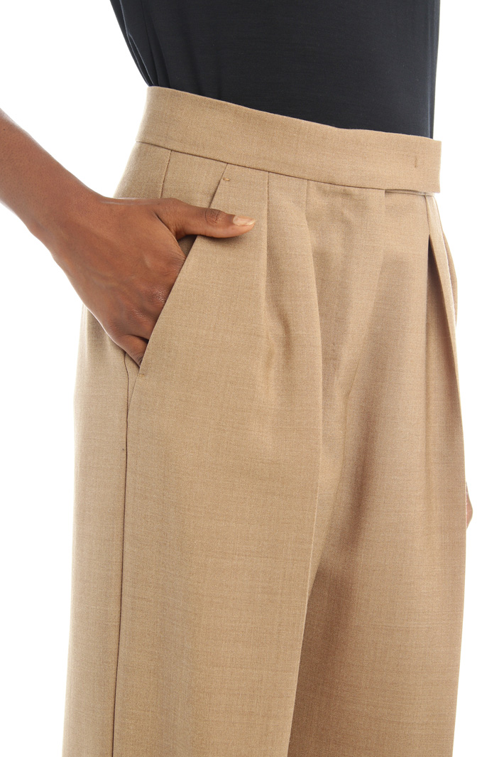 Silk and mohair trousers Intrend