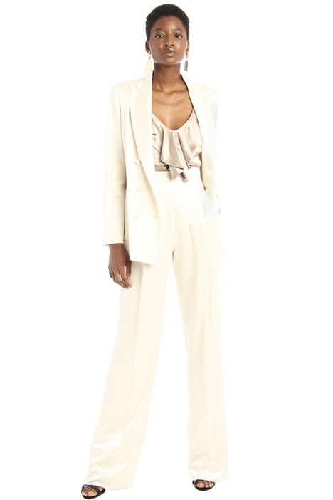 Silk satin trousers Intrend