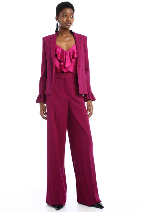 Wool palazzo trousers Intrend