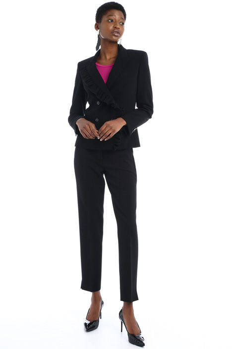 Crepe wool trousers Intrend