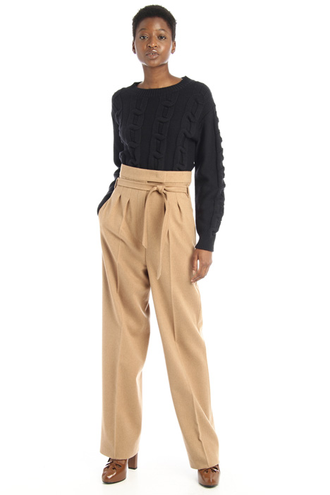 Camel palazzo trousers Intrend