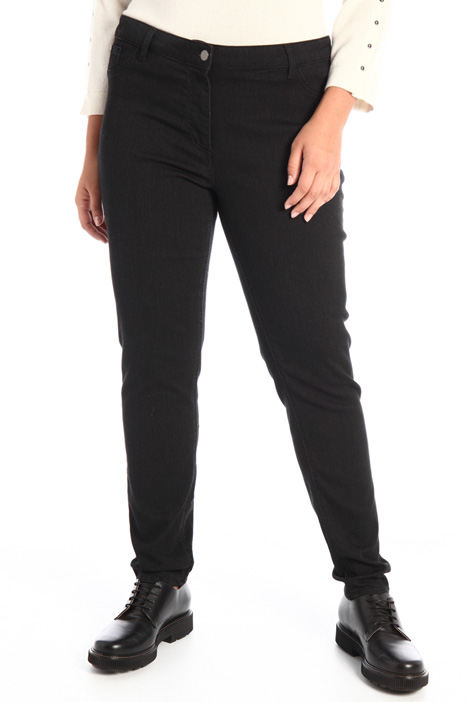 Denim jersey jeans  Intrend