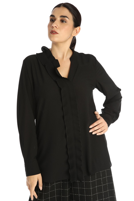 Shirt with ruffles Intrend