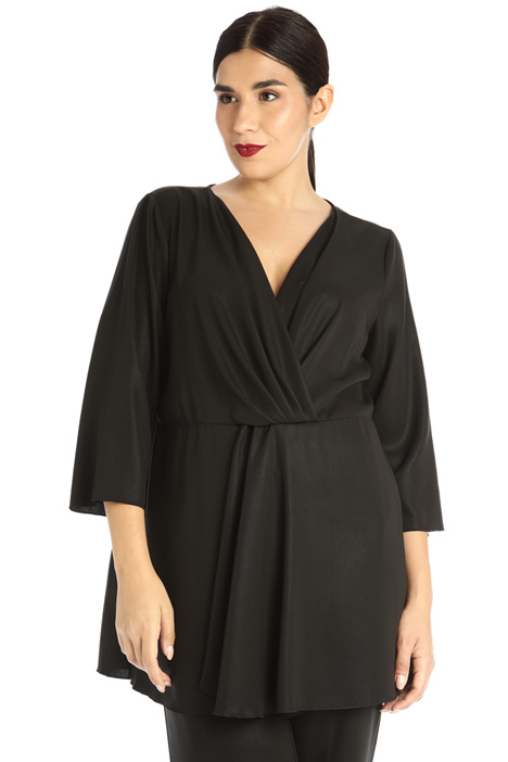 Flowy lurex blouse Intrend