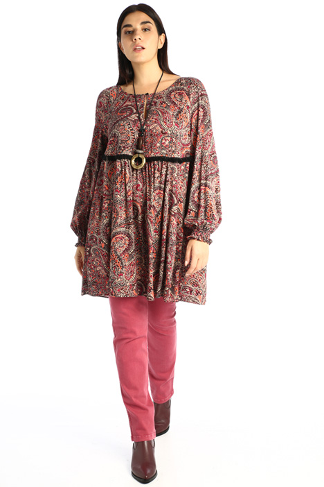 Patterned viscose tunic Intrend