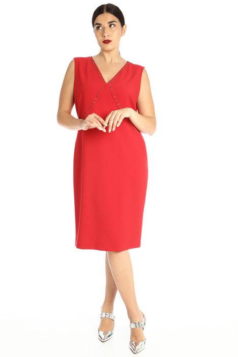 Dress with rhinestones Intrend