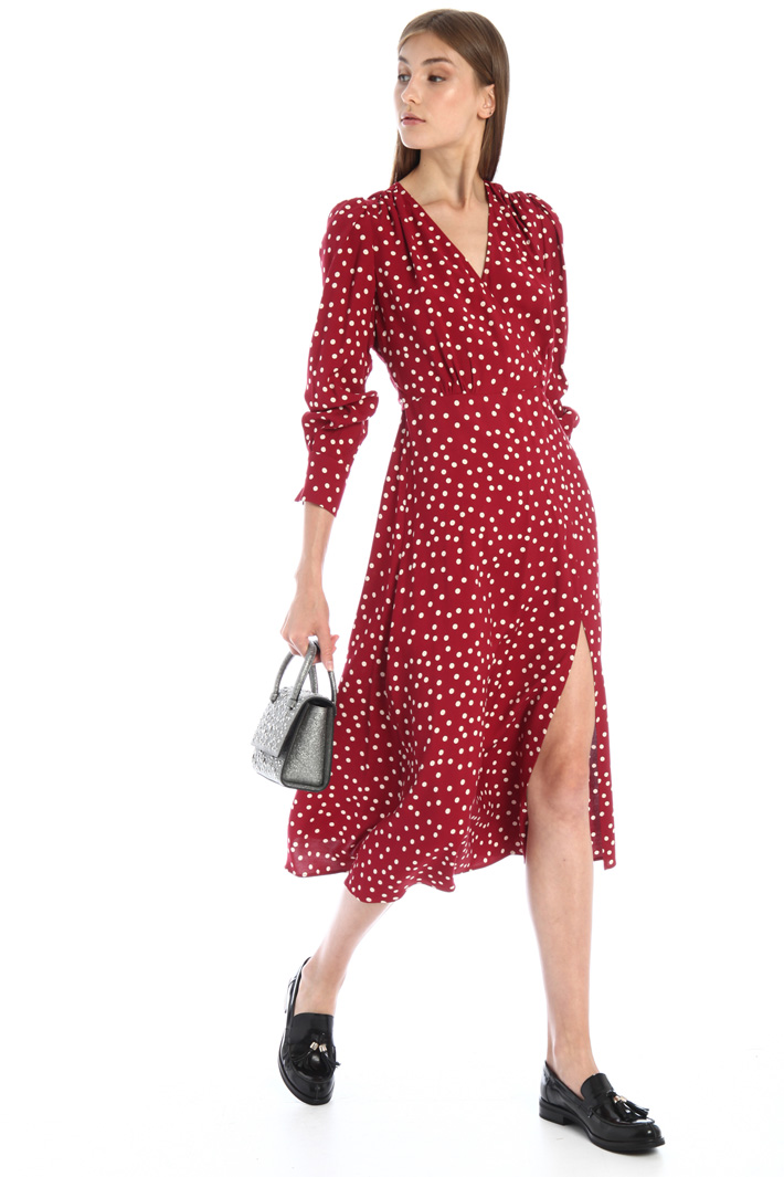 Flared sable dress Intrend