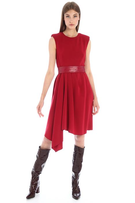 Asymmetrical cady dress Intrend
