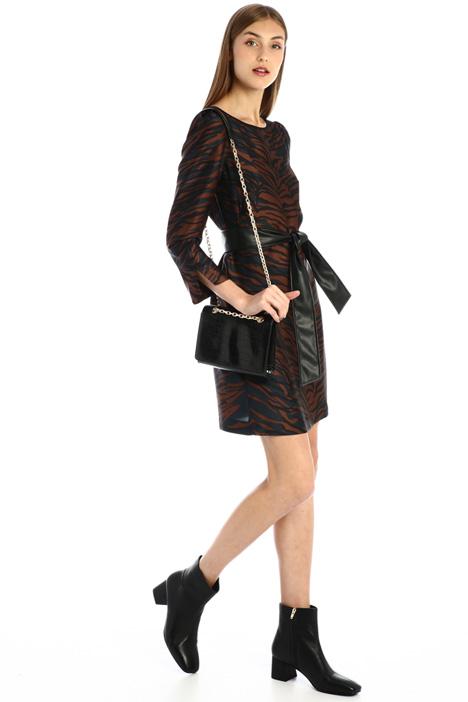 Short twill dress Intrend