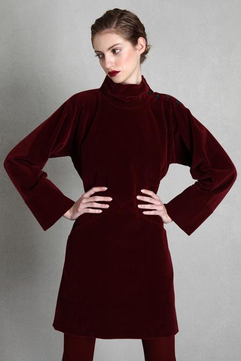 Cotton velvet dress Intrend